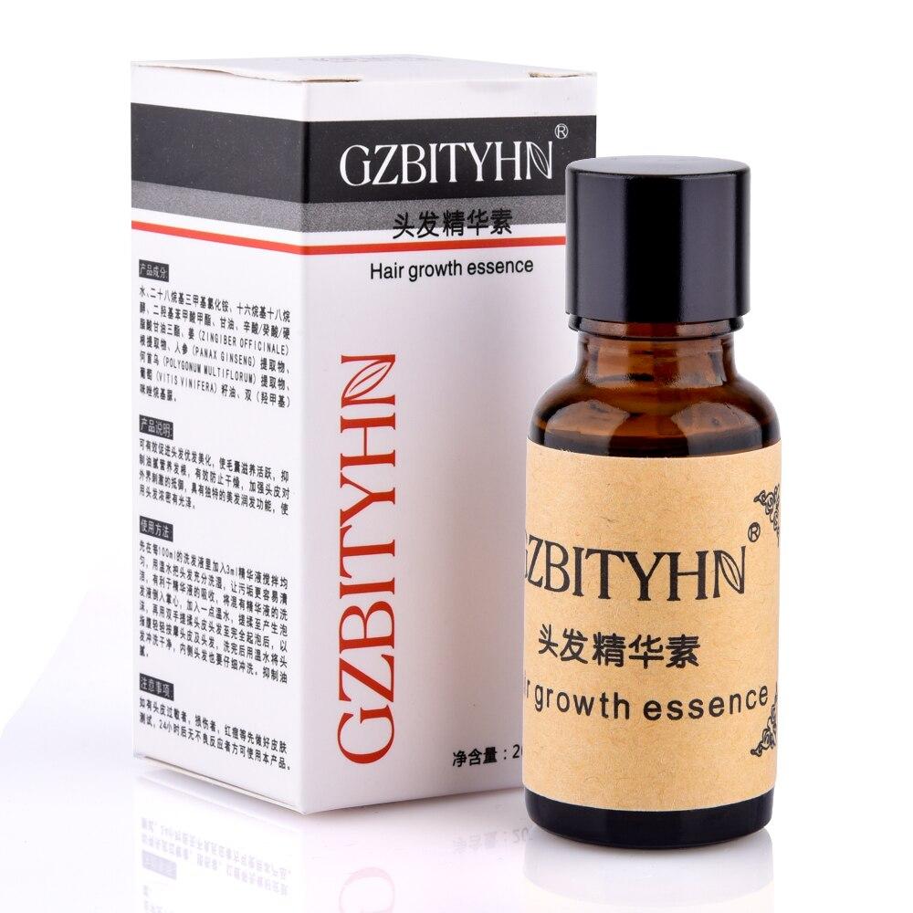 Hair Growth Essence Anti Hair Loss Liquid 20ml Dense Hair Hairstyle Keratin Hair Grow Care Styling Anti-alopecia Sunburst Ginger