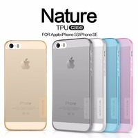 TPU Transparent Soft Case For Apple Iphone SE 5 5S NILLKIN Nature Series Luxury Brand Back