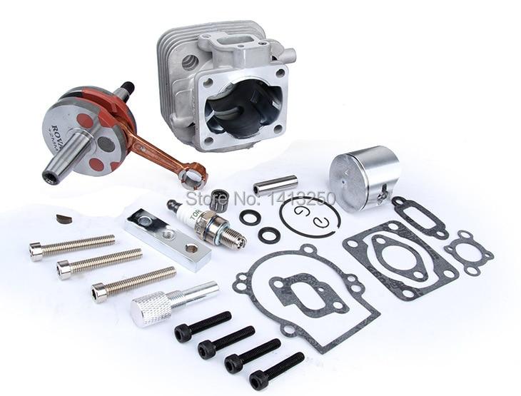 Jeu de cylindres à 4 trous 30.5cc pour pièces de moteurs 1/5 fg hpi baja 5 t, 5b, ss