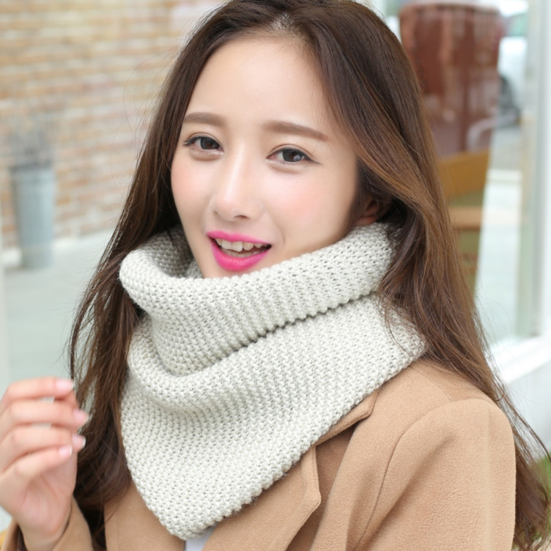 New Winter Scarf Warm Scarves For Women Knit LIC For Women Knit Steal Beige Dachshund Female Scarf