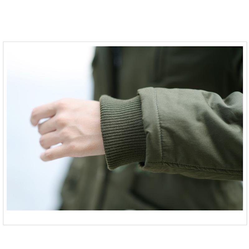 Adjustable Waist Women Parkas Big Pockets Fur Hooded Long Coats Female Outwear Cotton Warm Winter Ladies Jackets Coat MDEW541 15