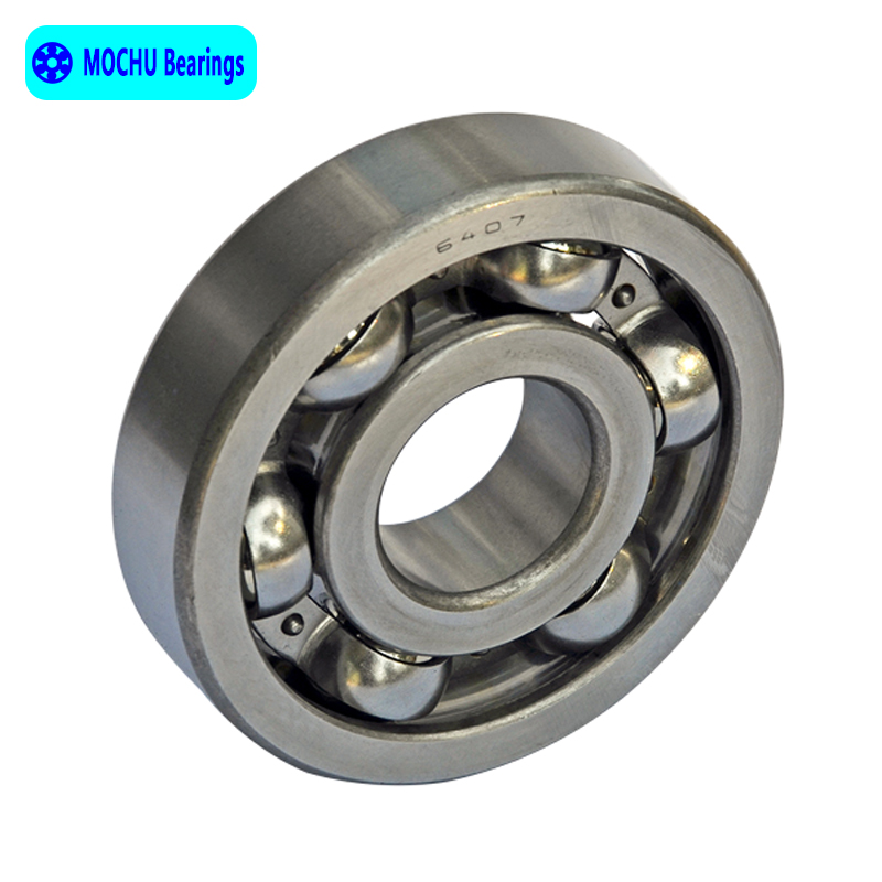 1pcs Bearing 6407 35x100x25 MOCHU Open Deep Groove Ball Bearings Single Row  High Quality-in Shafts from Home Improvement on Aliexpress.com | Alibaba  Group