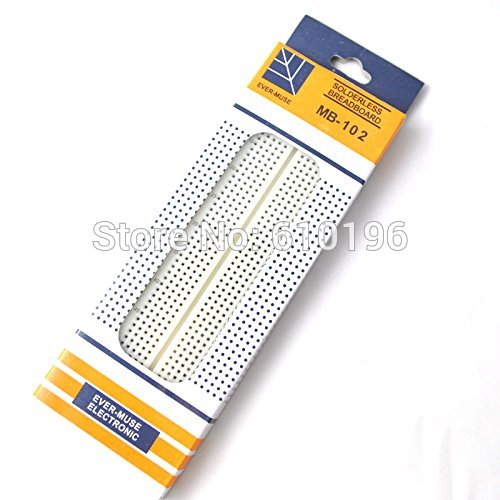 830 Point Breadboard Solderless PCB Bread Board ABS MB-102 MB102 Test Develop DIY Plate For Arduino
