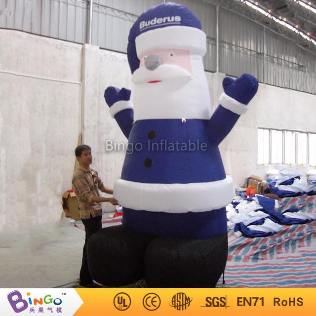Entrega gratuita Gigante Oxford nylon Juguete Inflable de Papá Noel Para Navidad Vacaciones