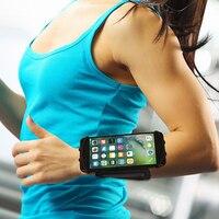 رياضة الجري المعصم ماء حزام قابل للتعديل حقيبة نايلون الحقيبة الهاتف المحمول عقد الرياضة الملحقات ل 4-6 بوصة الهواتف 30