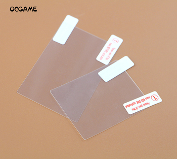 OCGAME 2in1 Top Bottom HD Clear Protective Film Surface Guard Cover for 3DS LCD Transparent Screen P