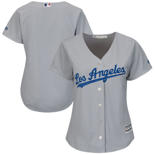 MLB Women s Los Angeles Dodgers White Home Cool Base Jersey-in ... e7bf1b30d79