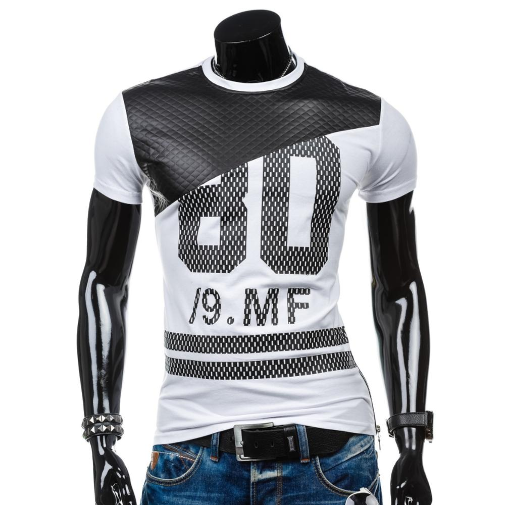 ZOGAA 2019 New Casual Mens Short-sleeved Slim T-shirt Youth Hooded Quick-drying