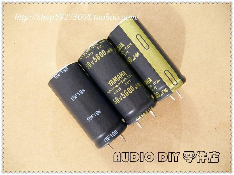 2019 hot sale 10 pcs/30 pcs Japão Química NIPPON 5600 uF Áudio/50 V capacitores eletrolíticos de áudio frete grátis