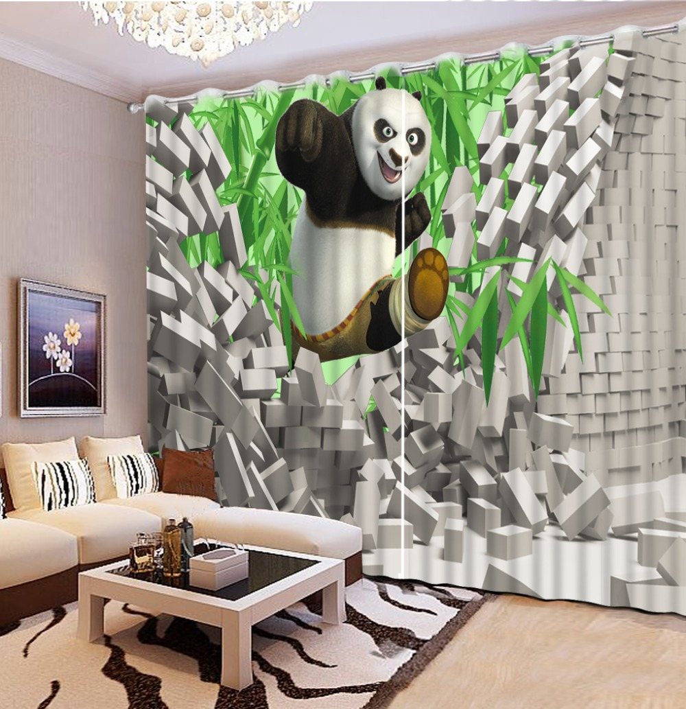 Nature animal living room curtains blackout modern 3d window high shading curtain    Nature animal living room curtains blackout modern 3d window high shading curtain