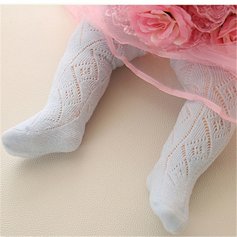 Baby Spring/Autumn Tights Cotton Baby Girl Pantyhose Kid Infant Knitted Collant Tights Soft Infant Clothing