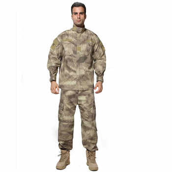 MEGE US ACU Army Combat Uniform, Military Camouflage Multicam Suit, Clothing Tactical Airsoft Paintball Equipment