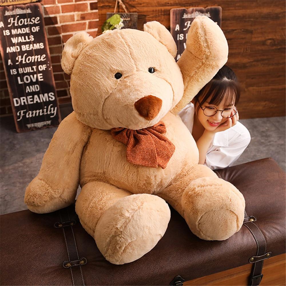 Hot Sale 1pc 68cm 86cm Big Teddy Bear Large Stuffed Plush Toy Soft