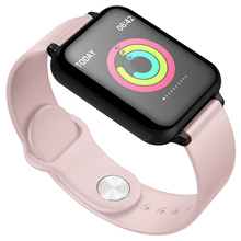Women Smart watch Color Screen IP67 Waterproof Sports For Iphone Smartwatch Heart Rate Monitor Blood Pressure Functions For Men
