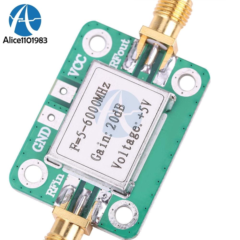 RF & Microwave Amplifiers 5M~6GHz RF Broadband Signal