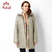 Astrid 2016 Women S Spring Jacket Casual Fashion Women Parka High Quality Female Hooded Coat Brand