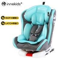 Детское безопасное сиденье Innokids с вращающейся на 360 градусов машиной для детей 0 12 лет, детское сиденье с защелкой Isofix