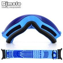 Bjmoto snow snowboard goggles Anti-fog ski skiing googles Winter glasses Ski Goggles Glasses Snow Eyewear