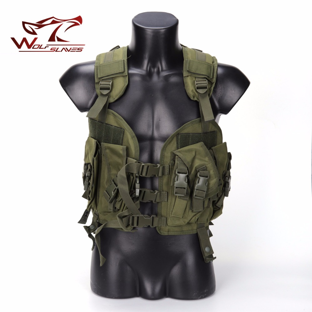 Wolfslaves New Arrival Outdoor 97 Seal Tactical Vest Hunting Military vest For CS Special Forces Wholesale new arrival wholesale