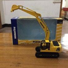 Новая коллекция! Komatsu PC220 экскаватор 1/50 масштаб литой металл модель