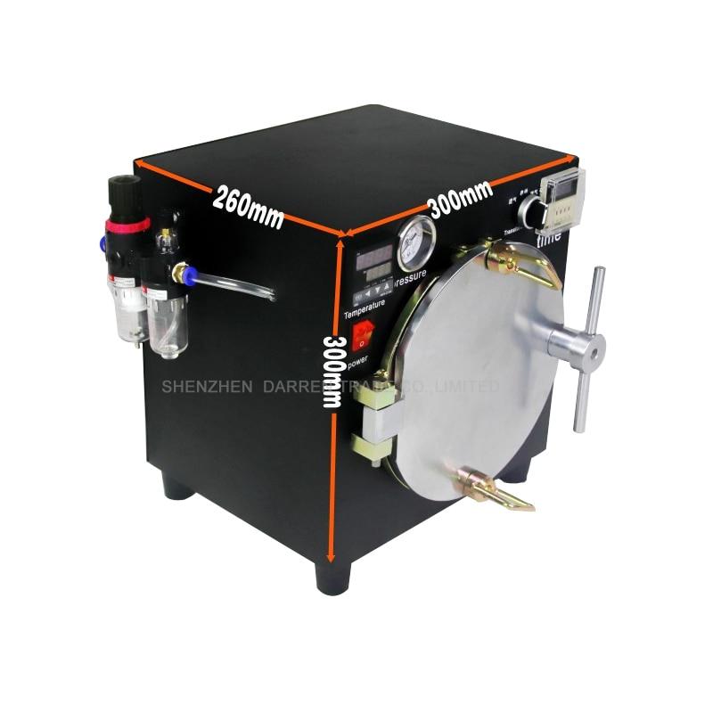 Mini High Pressure Autoclave OCA Adhesive Sticker LCD Bubble Remove Machine for Glass Refurbishment