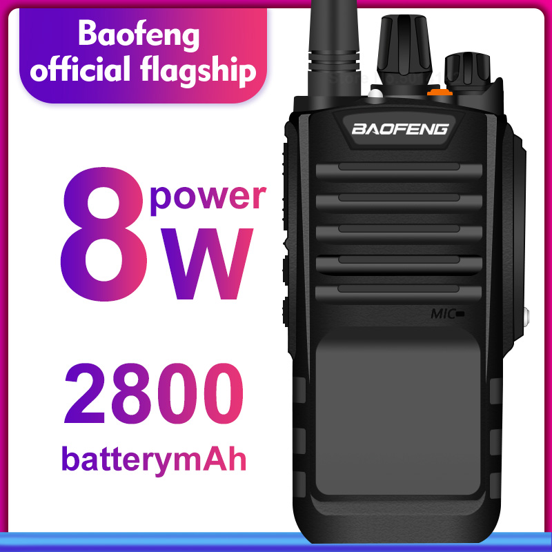 Baofeng talkie-walkie bf-9700 étanche Radio bidirectionnelle Uhf 400-520 MHz portable émetteur-récepteur Hf BF 9700 Cb Station de Radio