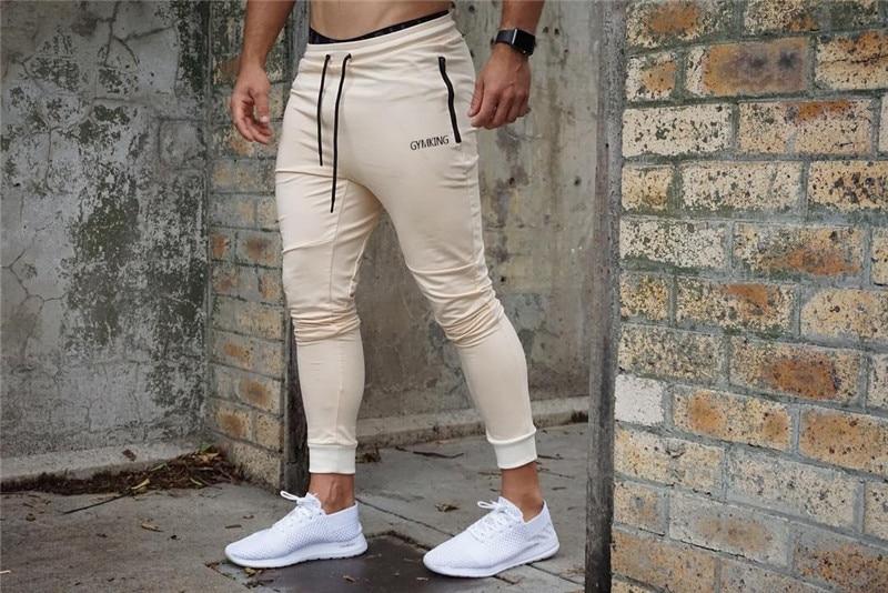 HTB1gbaiabj1gK0jSZFOq6A7GpXaz Fashion Mens Joggers Pants Skinny Casual Trousers Pants Top Quality Men Sweatpants