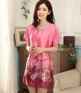2017 New Arrival Fashion Sexy Women Nightgown,Hot Sale For ladies for summer,autumn new Sleepwears freeshipping