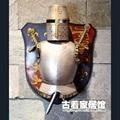 Cavaleiro de armadura Medieval europeia / retro europeia artesanato / KTV bar escritório sala de estar decoração