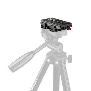 Image 5 - CAMVATE אוניברסלי מצלמה שחרור מהיר Baseplate הר חצובה הרכבה צלחת עבור DSLR תמיכת מערכת צילום accessories2020