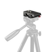 CAMVATE Universal Kamera Quick Release Grundplatte Montieren Stativ Montage Platte Für DSLR Unterstützung System Fotografie accessories2020