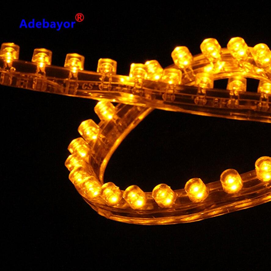 72 LED WATERPOOF 12V Flexible Strip Light white