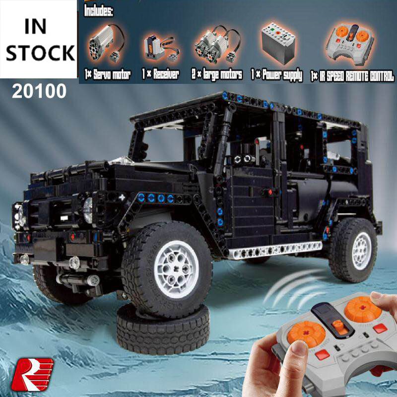 Technic 20100 MOC 2425 G500 AWD RC Motors Model Compatible With Legoing Building Blocks Bricks Gifts Educational ToysTechnic 20100 MOC 2425 G500 AWD RC Motors Model Compatible With Legoing Building Blocks Bricks Gifts Educational Toys