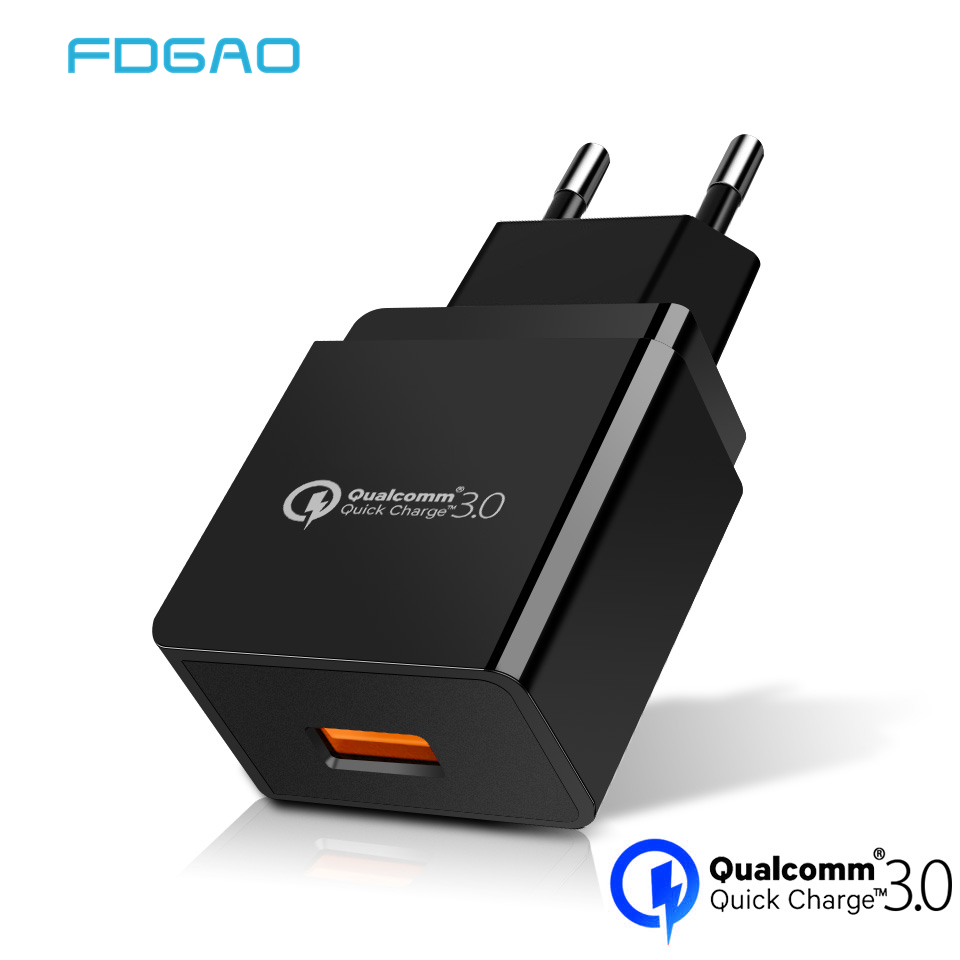 FDGAO Usb-Charger Mobile-Phone Xiaomi Samsung S10 6-Plus 18W For S9 S8 Qc3.0-Qc Mi-9