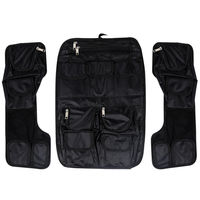 Motorcycle Rear Saddlebag Lid Saddlemen Tour Pack Lid Organizer Pouch For Harley Davidson Touring FLH 1984 2013 2012