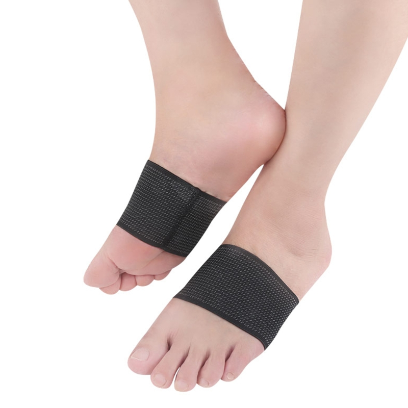 1Pair Foot Support Plantar Fasciitis Heel Pain Aid Cushioned Health Feet Protect