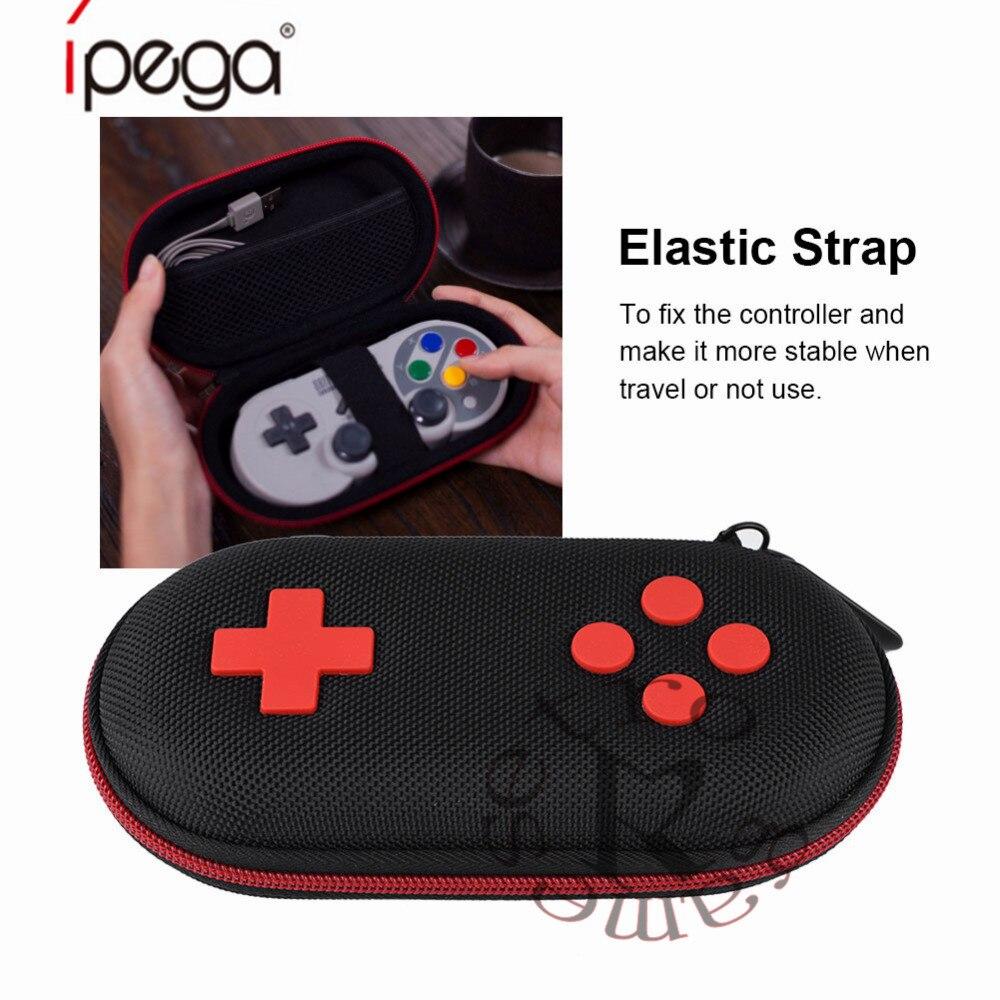 Taschen 8 Bitdo Klassischen Griff Spezielle Aufbewahrungsbox Wasser Verschleißfesten Eva Abdeckung Portable Storage Hartpackung Neueste Mode