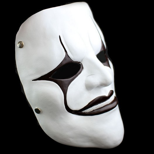 buy resin slipknot mask joey slipknot masks home decor mascaras halloween terror cosplay ghost scream scary horror masks from reliable
