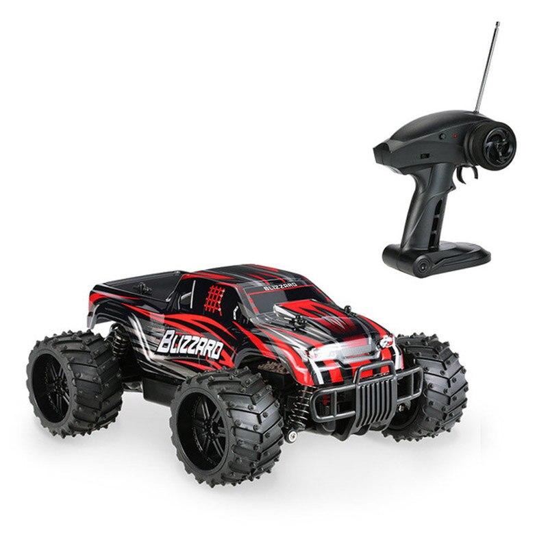 Mini voiture RC télécommande voitures Simulation originale tout-terrain monstre SUV S727 27 MHz 1:16 20 km/h garçons course modèle jouets cadeaux