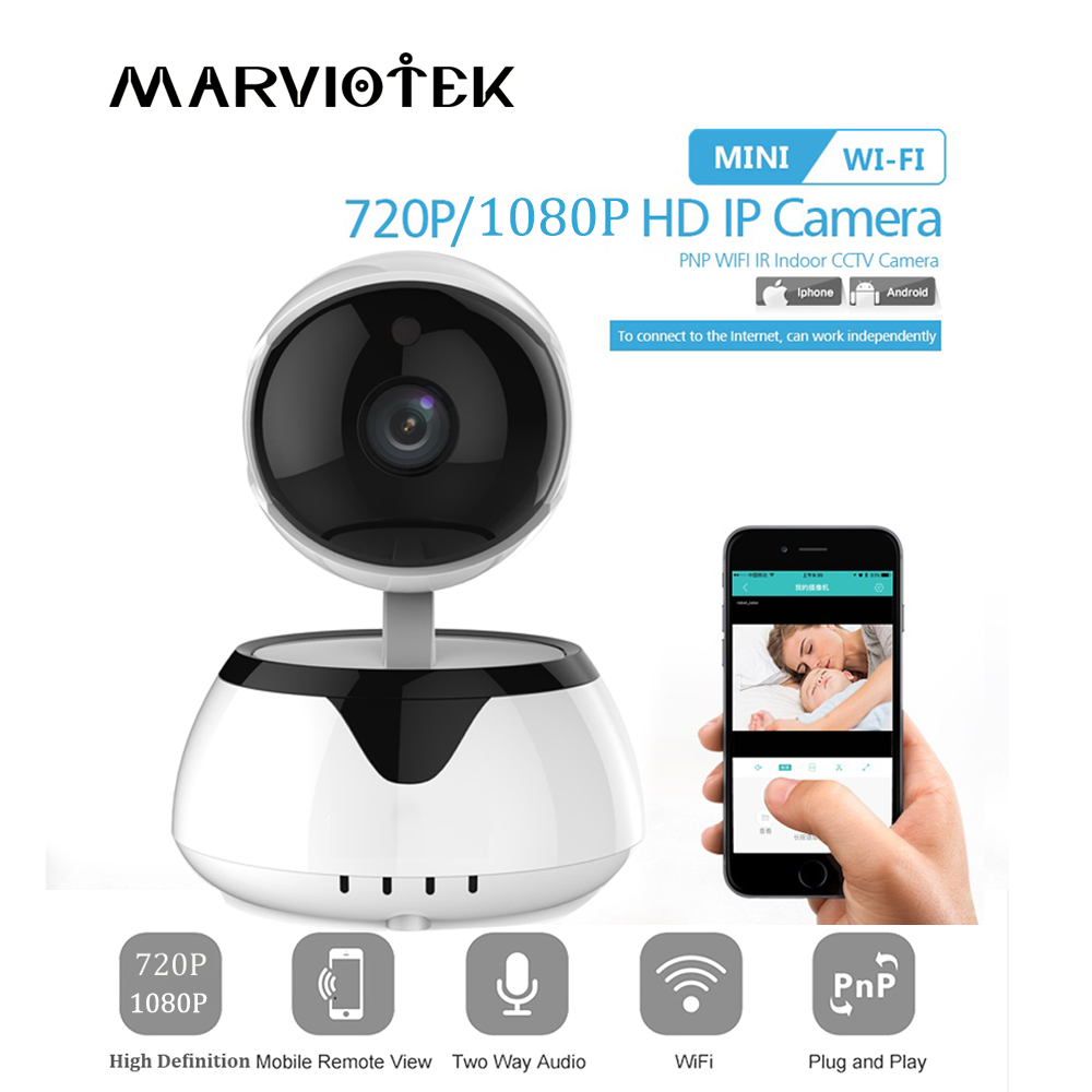 HD 720P Home Security IP Camera Wifi Two Way Audio Mini Wireless Camera 1080P Night Vision CCTV Camera WiFi Baby Monitor P2P IR