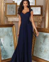 Vestido Madrinha Wedding Party A Line Long Sexy Lace Country African Bridesmaids Dresses Navy Blue Bridesmaid