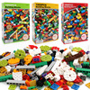 1000 Pcs Building Bricks Set DIY Creative Brick Kids Toy Educational Building Blocks Bulk Compatible With Brand Blocks
