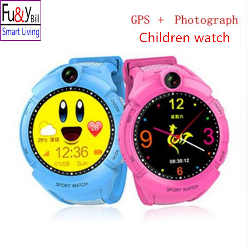 A17 GPS Phone Positioning Fashion Children Watch 1 22 Inch Color Touch Screen SOS Smart Watch