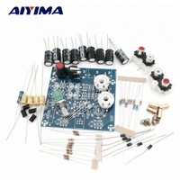 Aiyima Bộ Khuếch Đại Ống Âm Thanh board Amplificador Pre-Amp Audio Mixer 6J1 Van Preamp Bile Buffer Bộ Dụng Cụ Diy