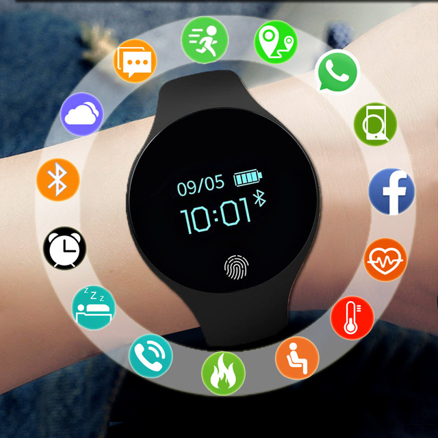 Sport Smart Watch Men Women For Android IOS Smartwatch Fitness Tracker Electronics Smart Clock Wach Health Smart-watch Smartwach
