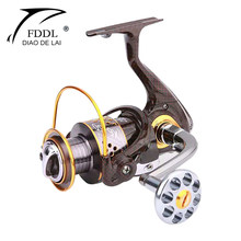 Metal 12+1BB Fishing Spinning Reel Ratio 4.7/15.2:1 Spinning Reels Carp Fishing Reel Saltwater for Big Fish Wheels 3000-7000(China)