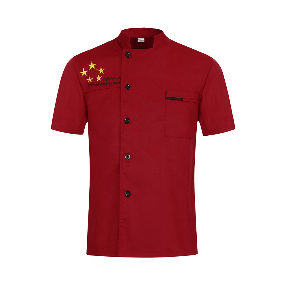 Chef Clothes Kitchen Unisex Work Clothes Canteen Barber Restaurant Uniform Stamp Name Personalize Ladies Chef 39 s Jacket Hotel in Chef Jackets from Novelty amp Special Use