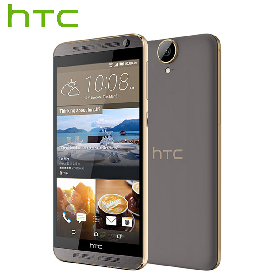 Brand New HTC One E9+ E9 Plus E9pw 4G LTE Mobile Phone 5.5inch MTK Helio X10 Octa Core 3GB RAM 32GB ROM 20MP 2800mAh SmartPhone