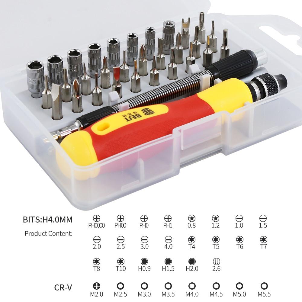 33 in 1 Set di cacciaviti intercambiabili Kit di cacciaviti magnetici - Utensili manuali - Fotografia 2
