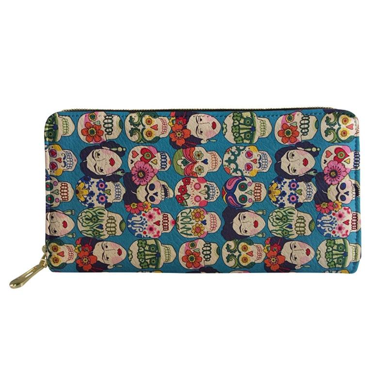 NOISYDESIGNS Sugar Skull Printing Handbags Women Large Top Handle Bags Ladies Shoulder Bag for Females 2pcs set Hand Bag Wallet in Shoulder Bags from Luggage Bags